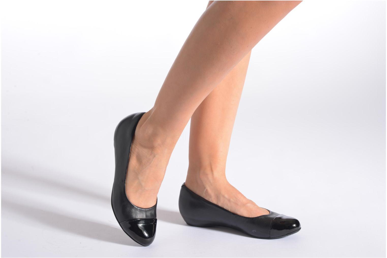 Alitay Susan Black leather