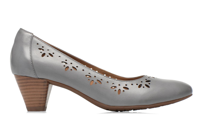 Zapatos de tacón Clarks Denny Dazzle Gris vistra trasera