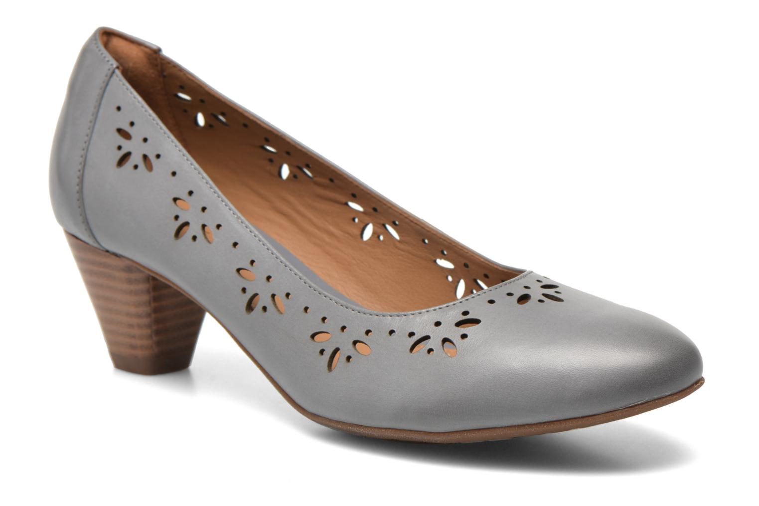 High heels Clarks Denny Dazzle Grey detailed view/ Pair view