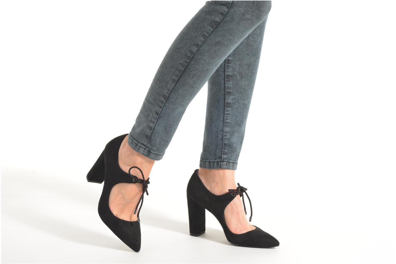 Zapatos de tacón What For Okil Negro vista de abajo