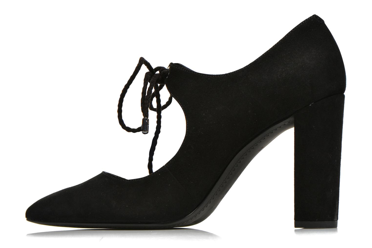 High heels What For Okil Black front view