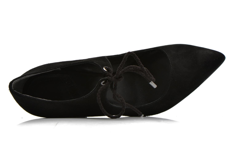 Zapatos de tacón What For Okil Negro vista lateral izquierda