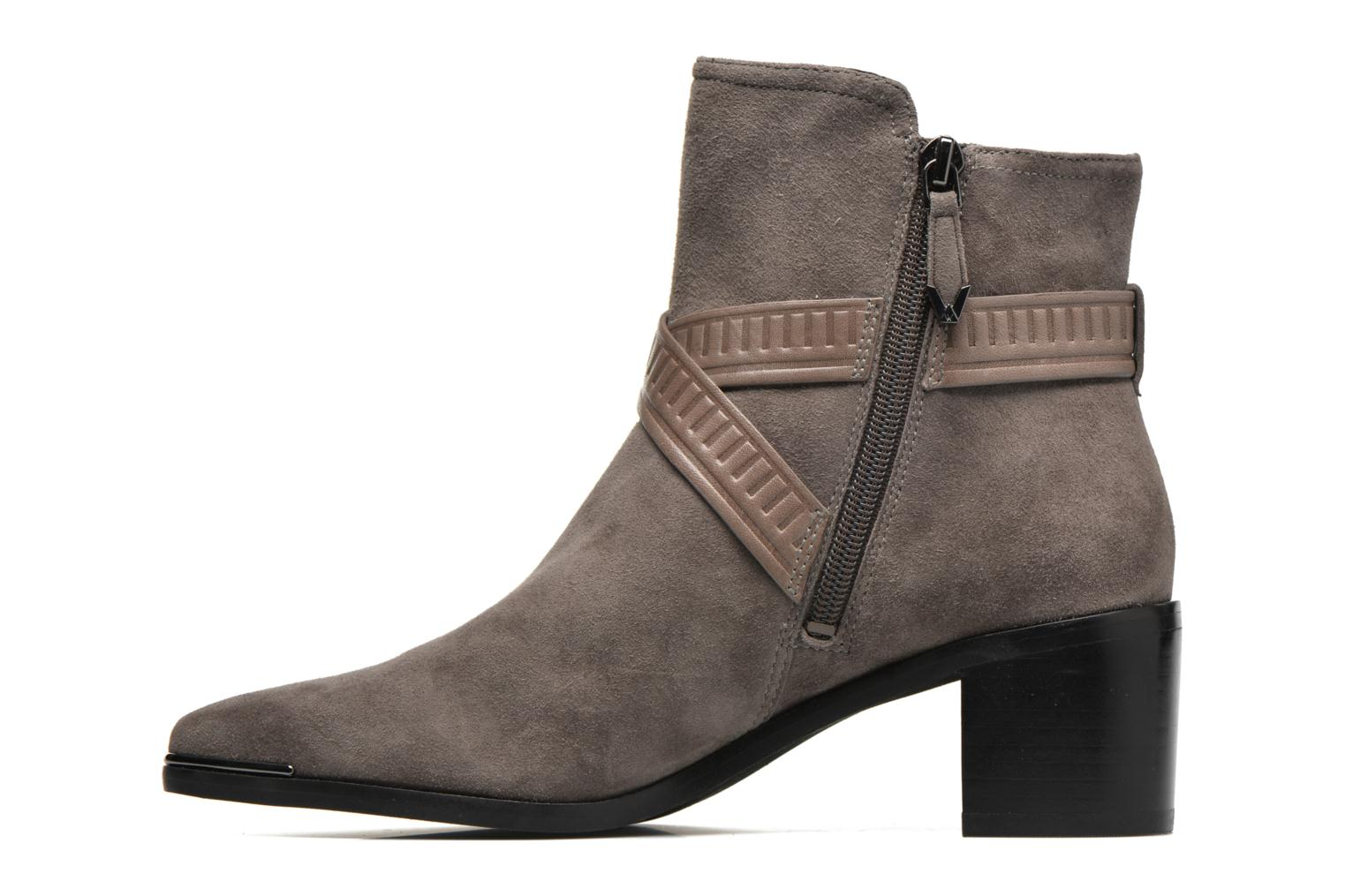 Ankle boots What For Meyes Brown front view