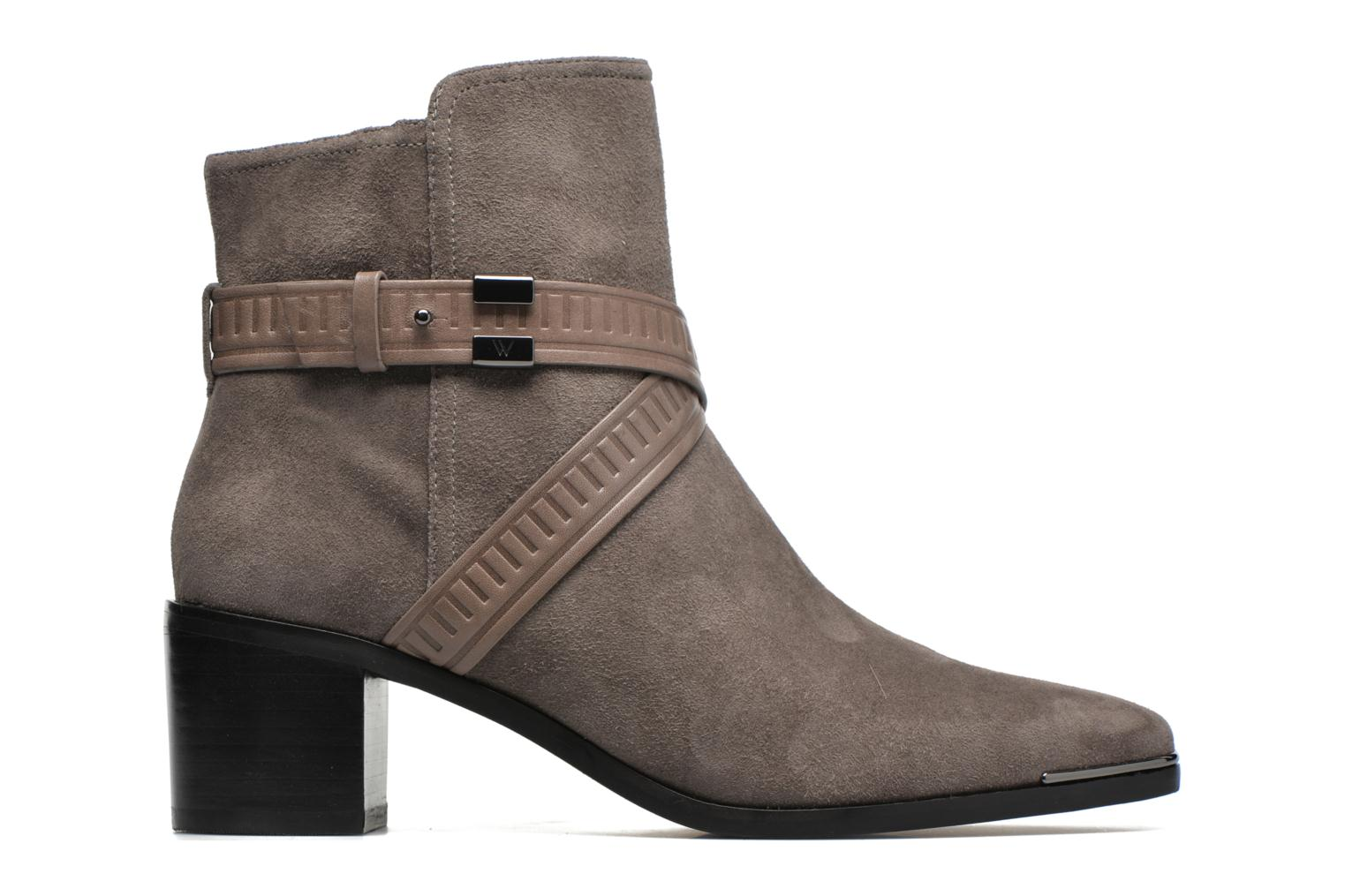 Ankle boots What For Meyes Brown back view