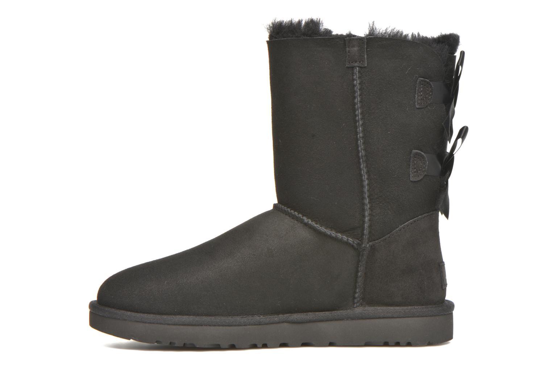 Bottines et boots UGG Bailey Bow II Noir vue face