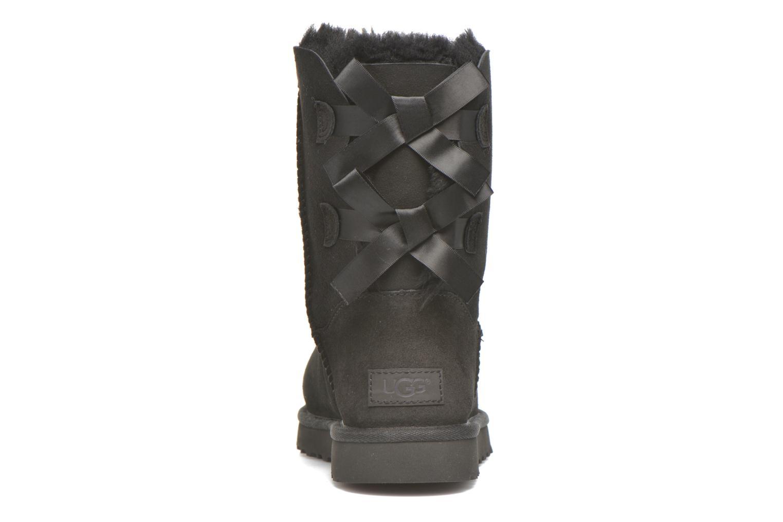 Bottines et boots UGG Bailey Bow II Noir vue droite