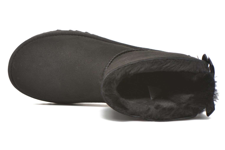 Bottines et boots UGG Bailey Bow II Noir vue gauche