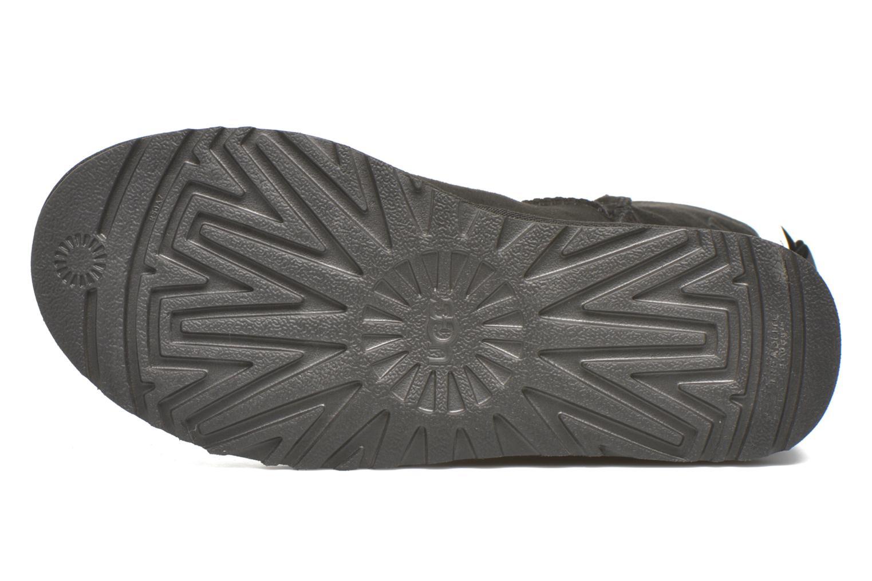 Bottines et boots UGG Bailey Bow II Noir vue haut