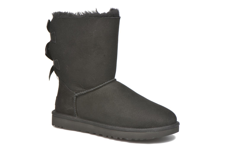 Bottines et boots UGG Bailey Bow II Noir vue détail/paire