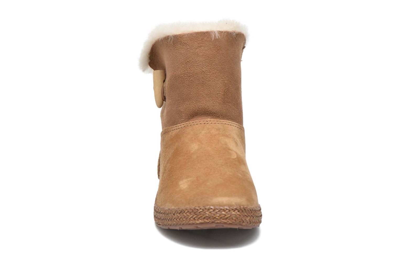 Bottines et boots UGG W Garnet Marron vue portées chaussures