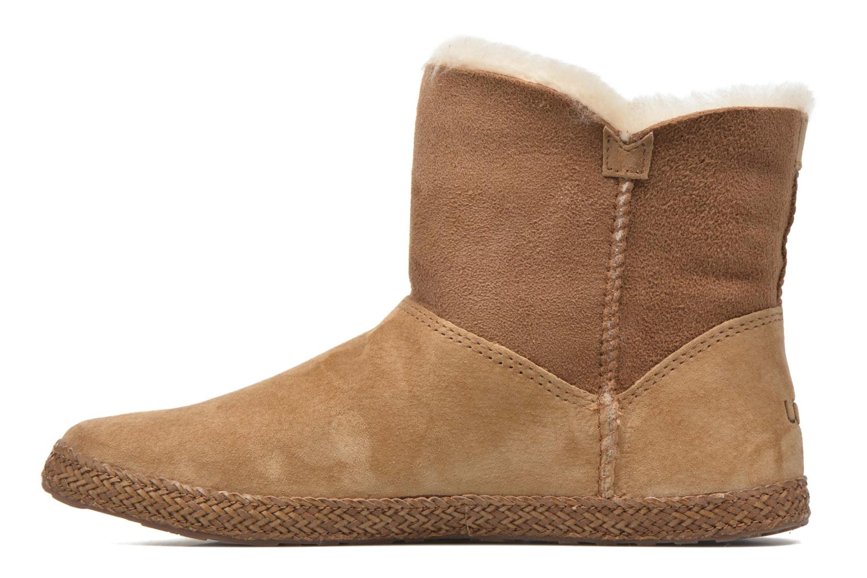 Bottines et boots UGG W Garnet Marron vue face