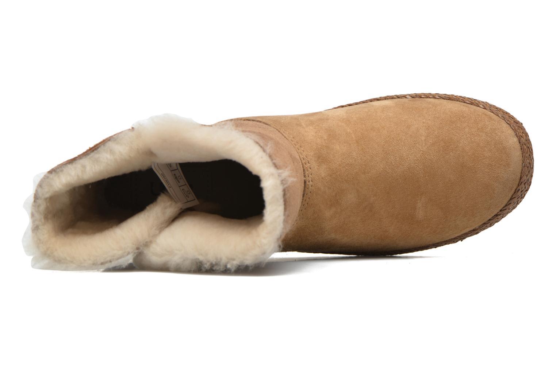 Bottines et boots UGG W Garnet Marron vue gauche