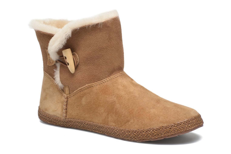 Bottines et boots UGG W Garnet Marron vue détail/paire