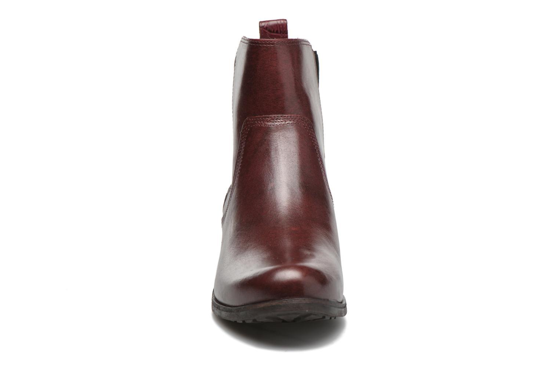 Bottines et boots UGG W Keller Croco Rouge vue portées chaussures