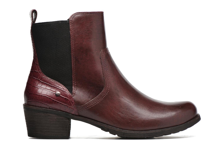 Bottines et boots UGG W Keller Croco Rouge vue derrière