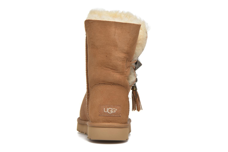 Bottines et boots UGG W Lilou Marron vue droite