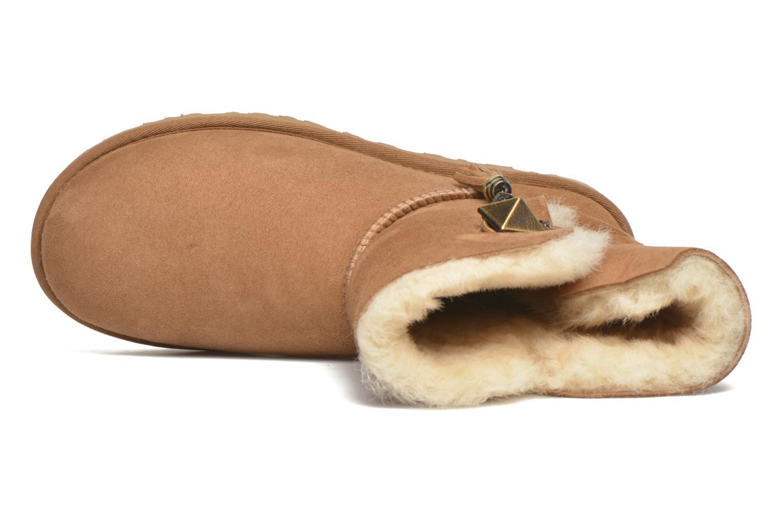 Bottines et boots UGG W Lilou Marron vue gauche