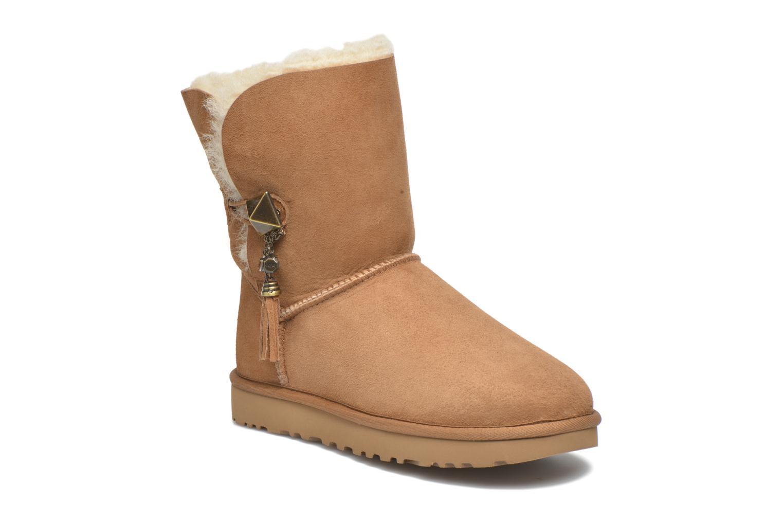 Bottines et boots UGG W Lilou Marron vue détail/paire