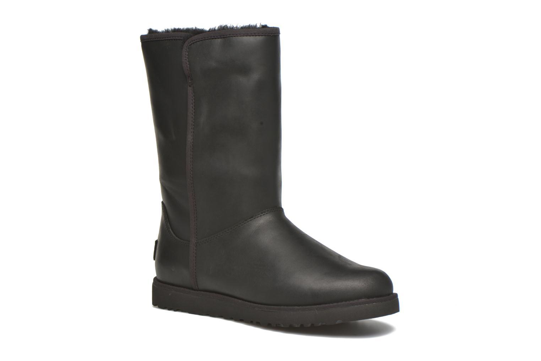 W Michelle Leather Black