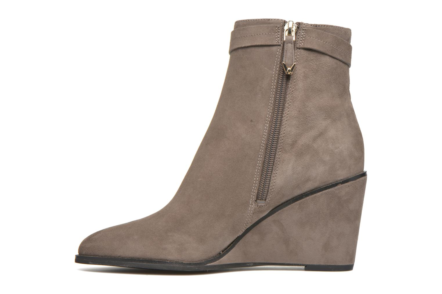 Ankle boots What For Griz Brown front view