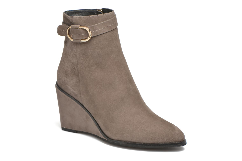 Bottines et boots What For Griz Marron vue détail/paire