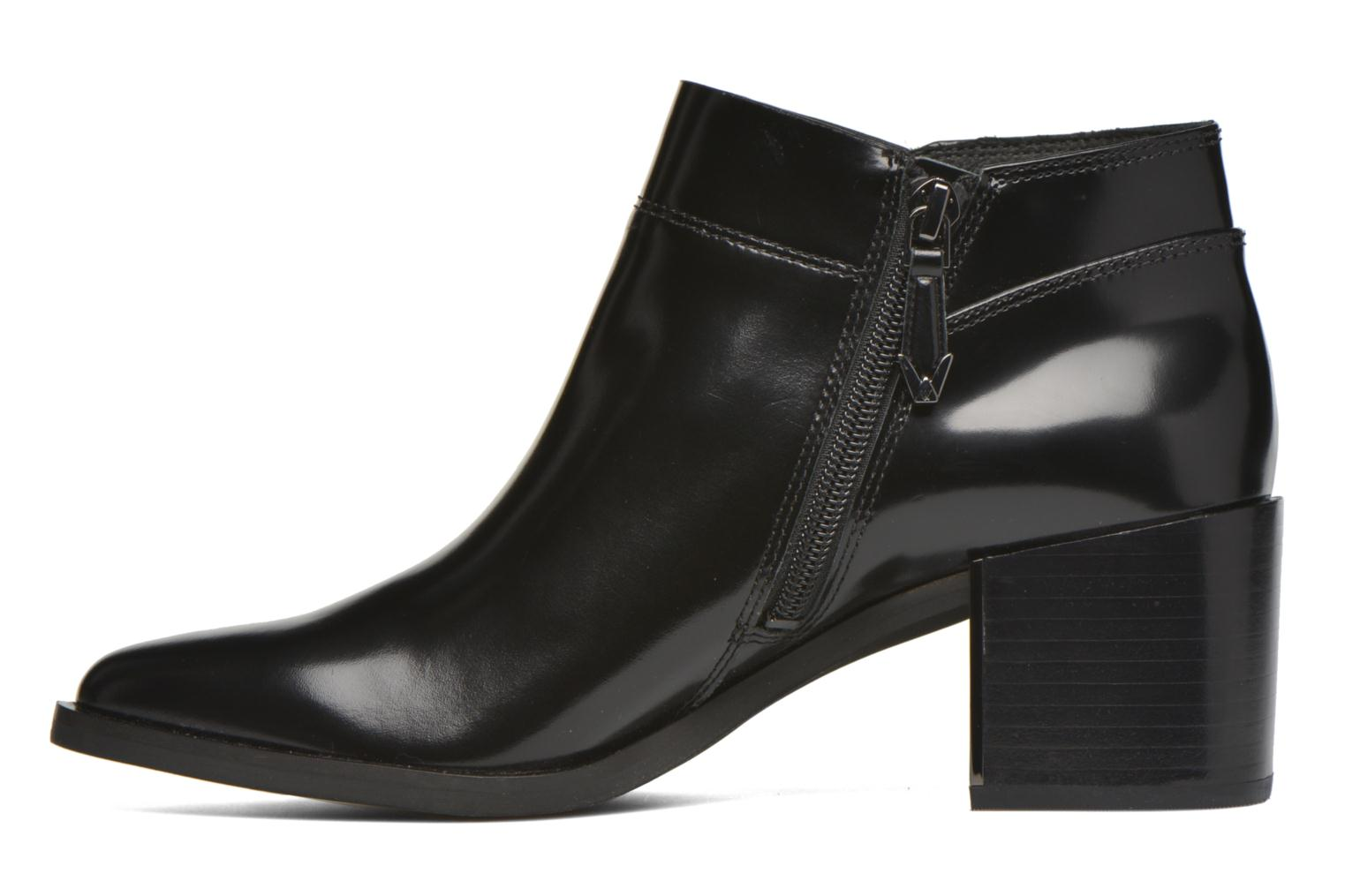 Ankle boots What For Azek Black front view