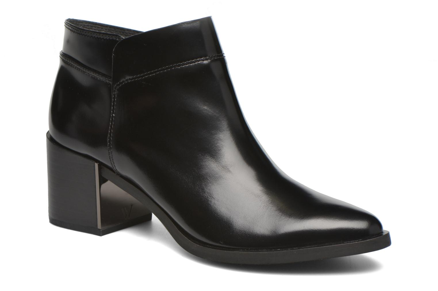 Ankle boots What For Azek Black detailed view/ Pair view