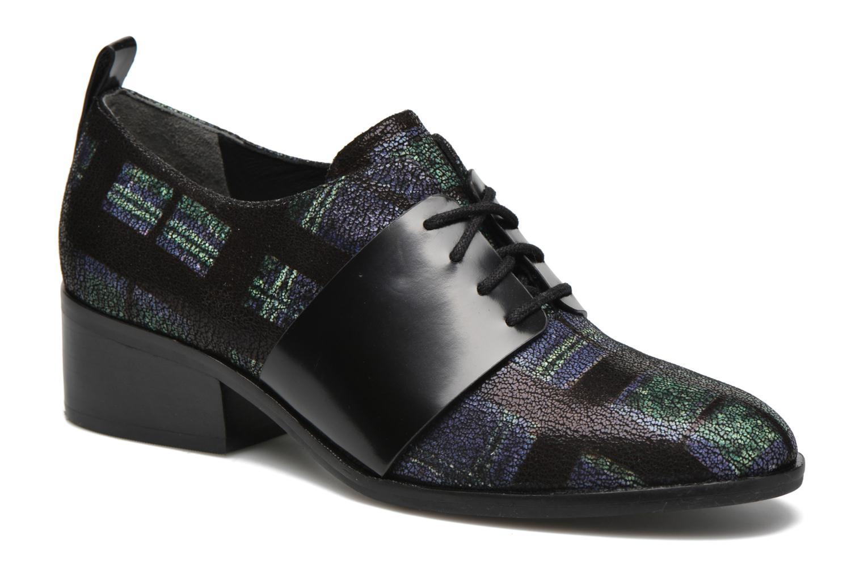 Zapatos con cordones What For Goxoy Azul vista de detalle / par