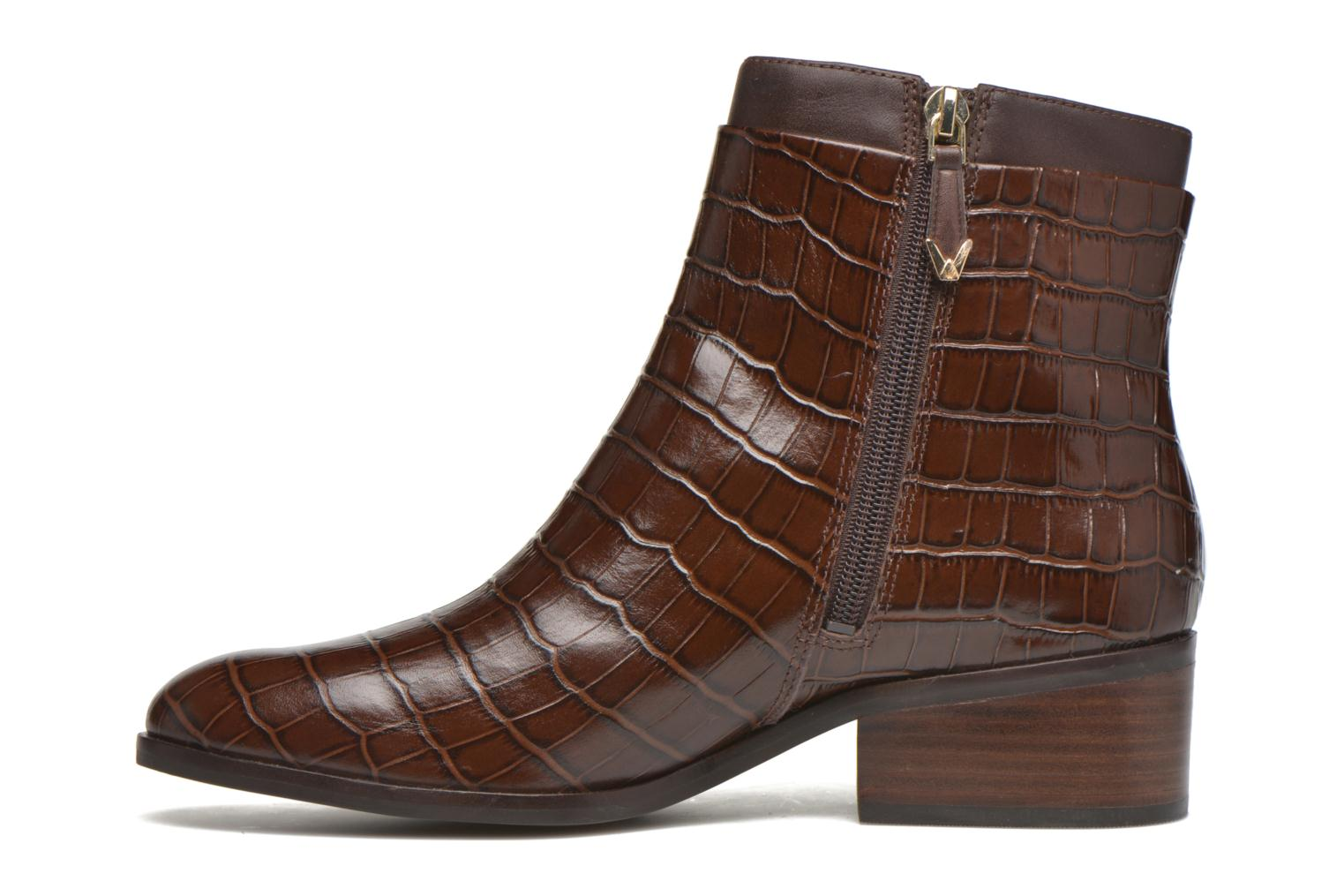 Ankle boots What For Panhu Brown front view