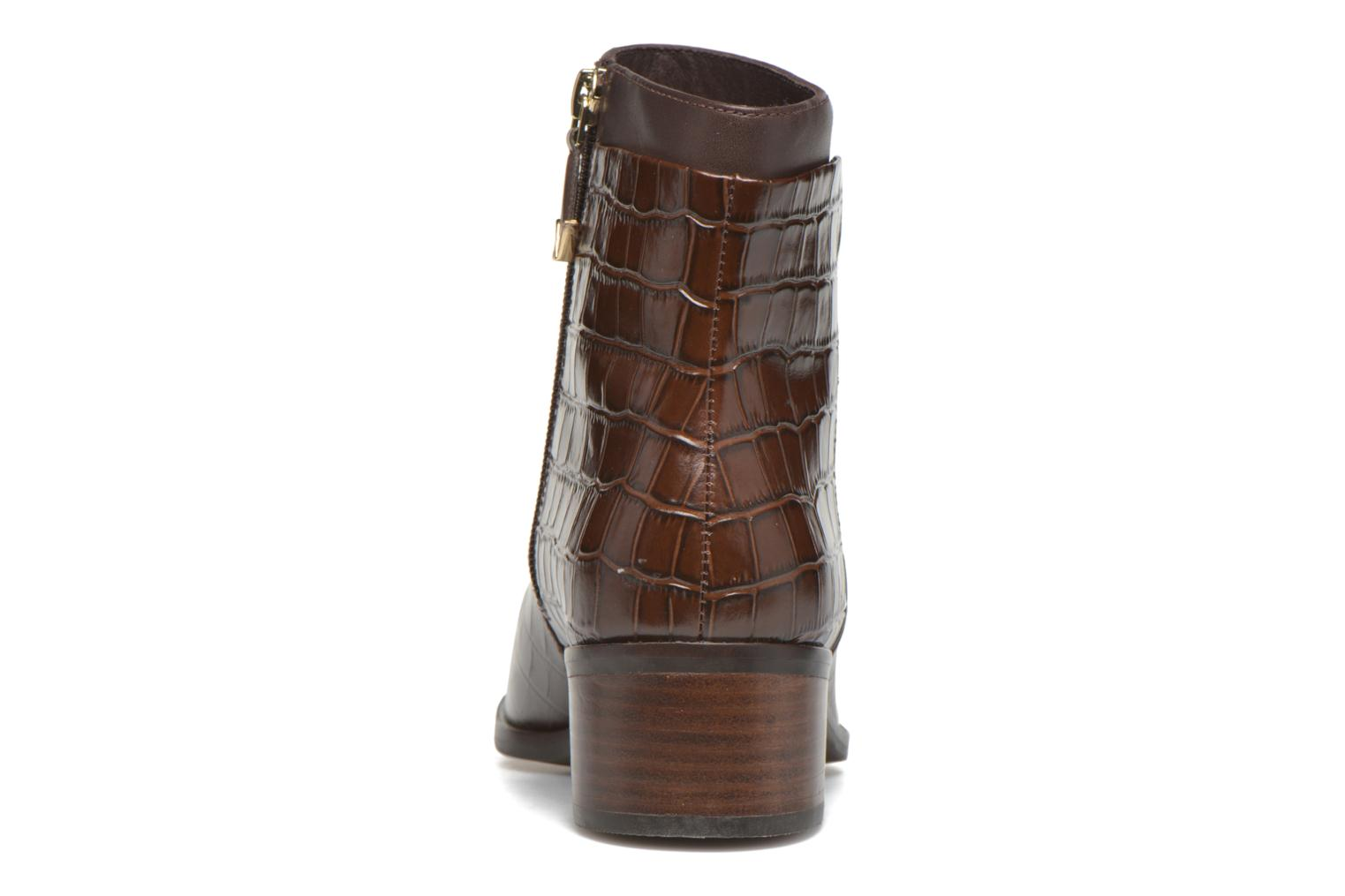 Ankle boots What For Panhu Brown view from the right