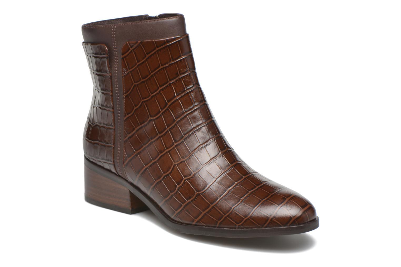 Bottines et boots What For Panhu Marron vue détail/paire