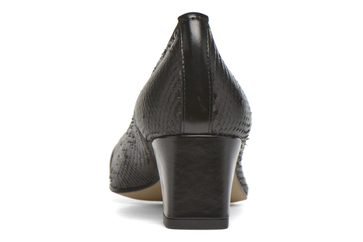 High heels Elizabeth Stuart Eres 515 Black view from the right