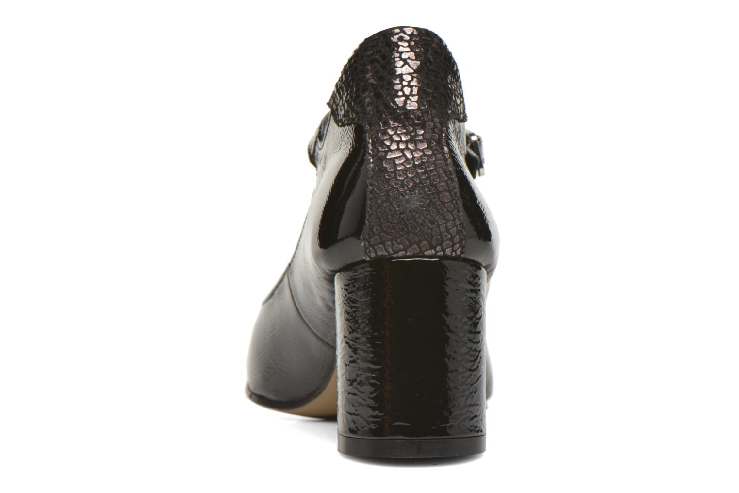 High heels Elizabeth Stuart Katin 505 Black view from the right