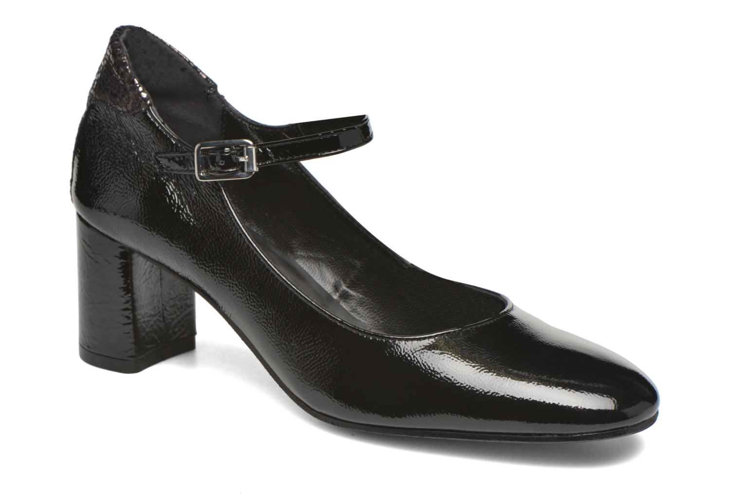 High heels Elizabeth Stuart Katin 505 Black detailed view/ Pair view