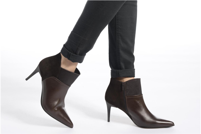 Bottines et boots Elizabeth Stuart Lebrac 536 Noir vue bas / vue portée sac