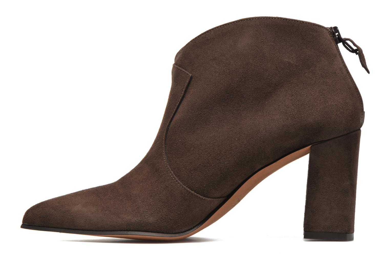 Ankle boots Elizabeth Stuart Boheme 334 Brown front view