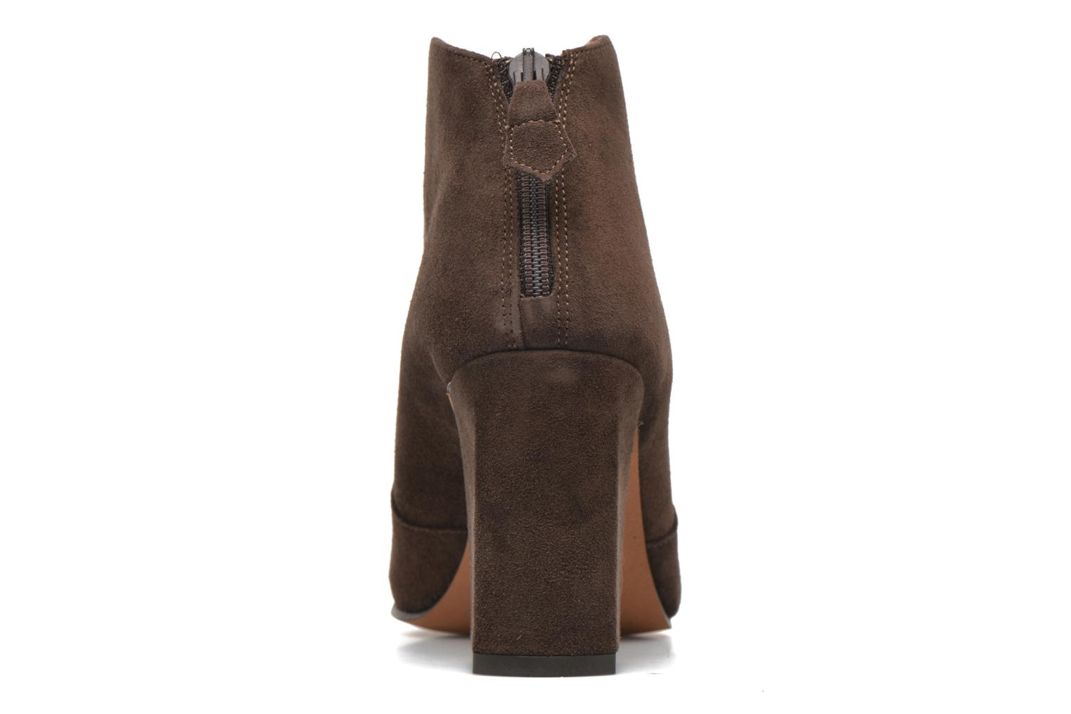 Ankle boots Elizabeth Stuart Boheme 334 Brown view from the right