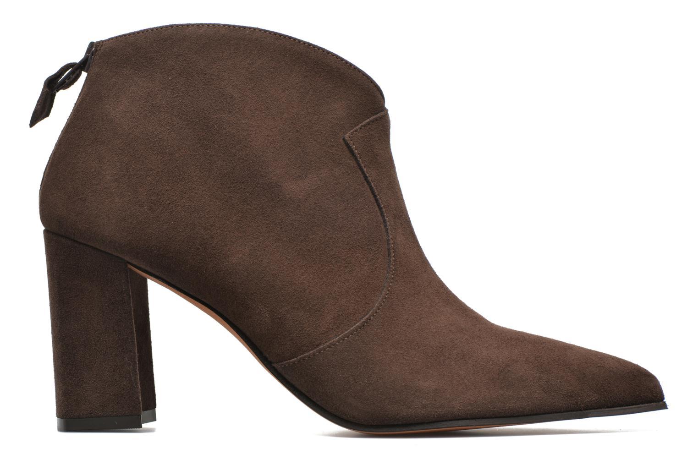 Ankle boots Elizabeth Stuart Boheme 334 Brown back view