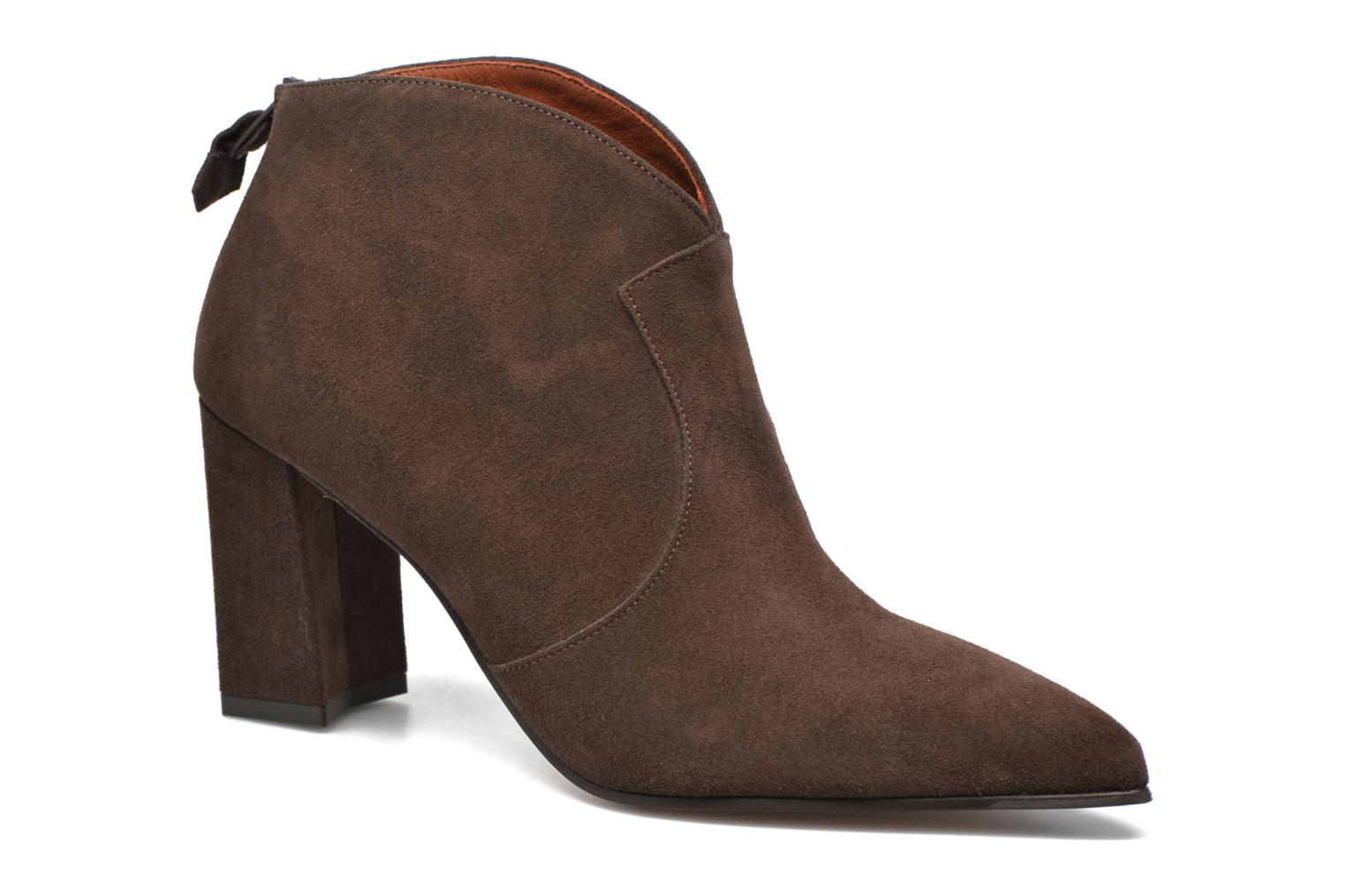 Ankle boots Elizabeth Stuart Boheme 334 Brown detailed view/ Pair view