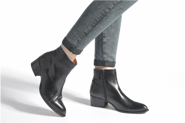 Ankle boots Elizabeth Stuart Havys 115 Black view from underneath / model view