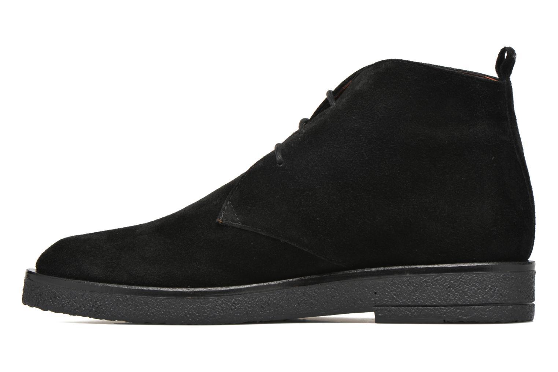 Lace-up shoes Elizabeth Stuart Volta 334 Black front view