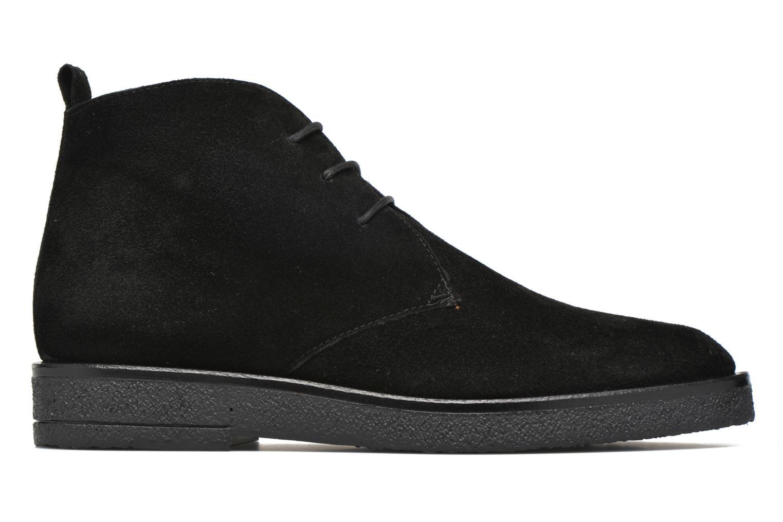 Lace-up shoes Elizabeth Stuart Volta 334 Black back view