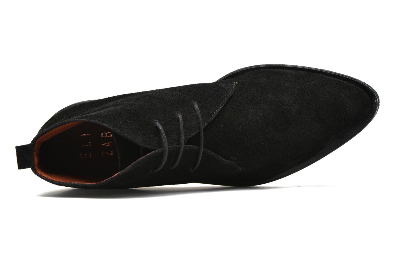 Lace-up shoes Elizabeth Stuart Volta 334 Black view from the left