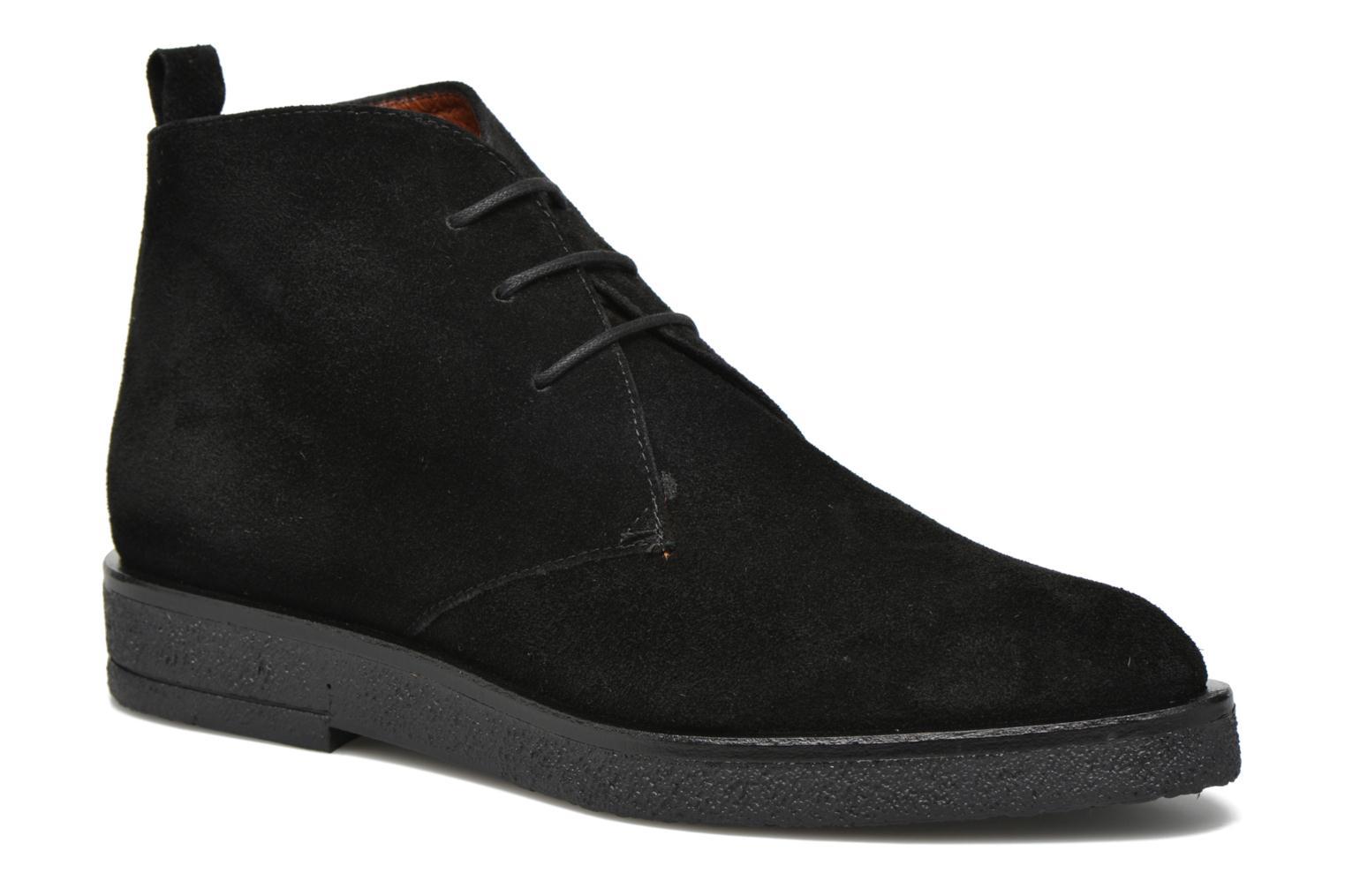 Chaussures à lacets Elizabeth Stuart Volta 334 Noir vue détail/paire