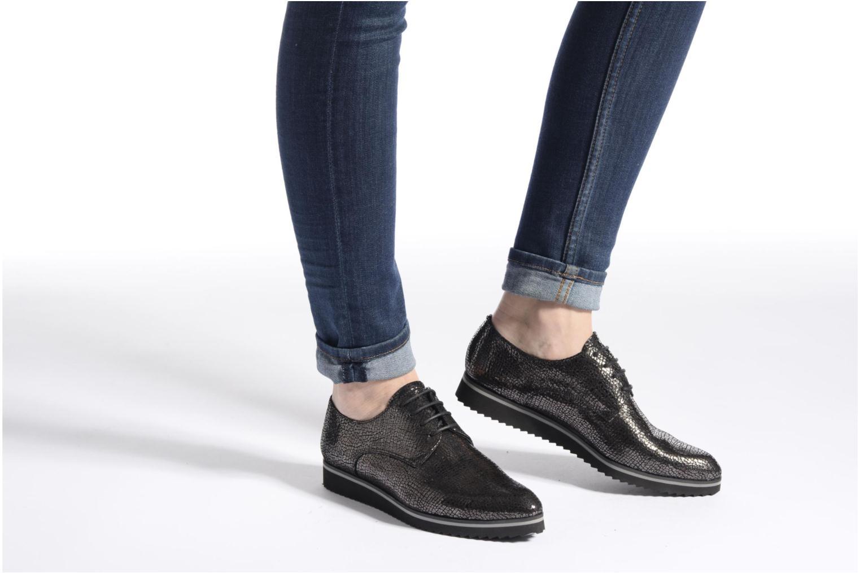 Chaussures à lacets Elizabeth Stuart Vutou 337 Noir vue bas / vue portée sac