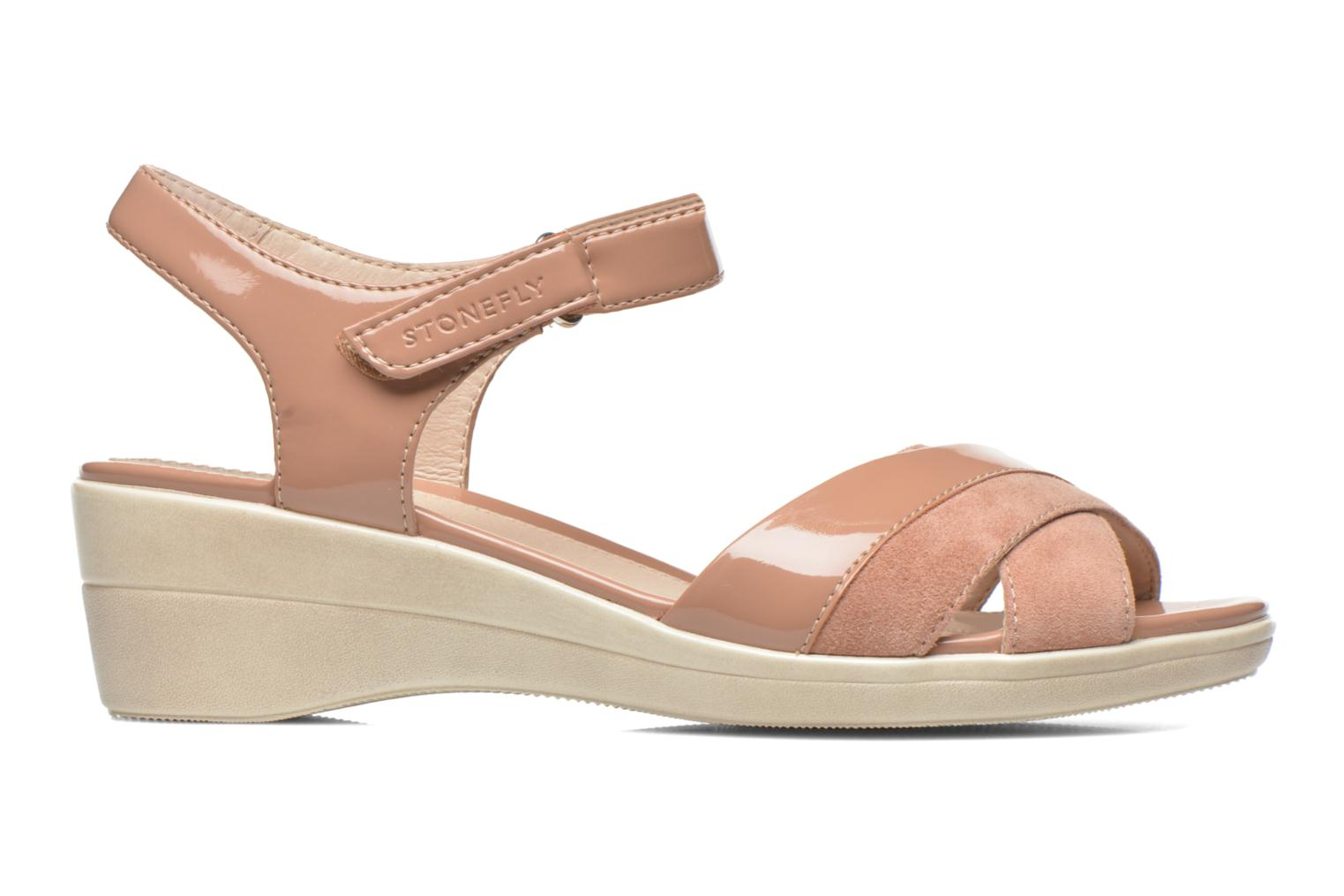 Sandals Stonefly Vanity III 3 Go Beige back view