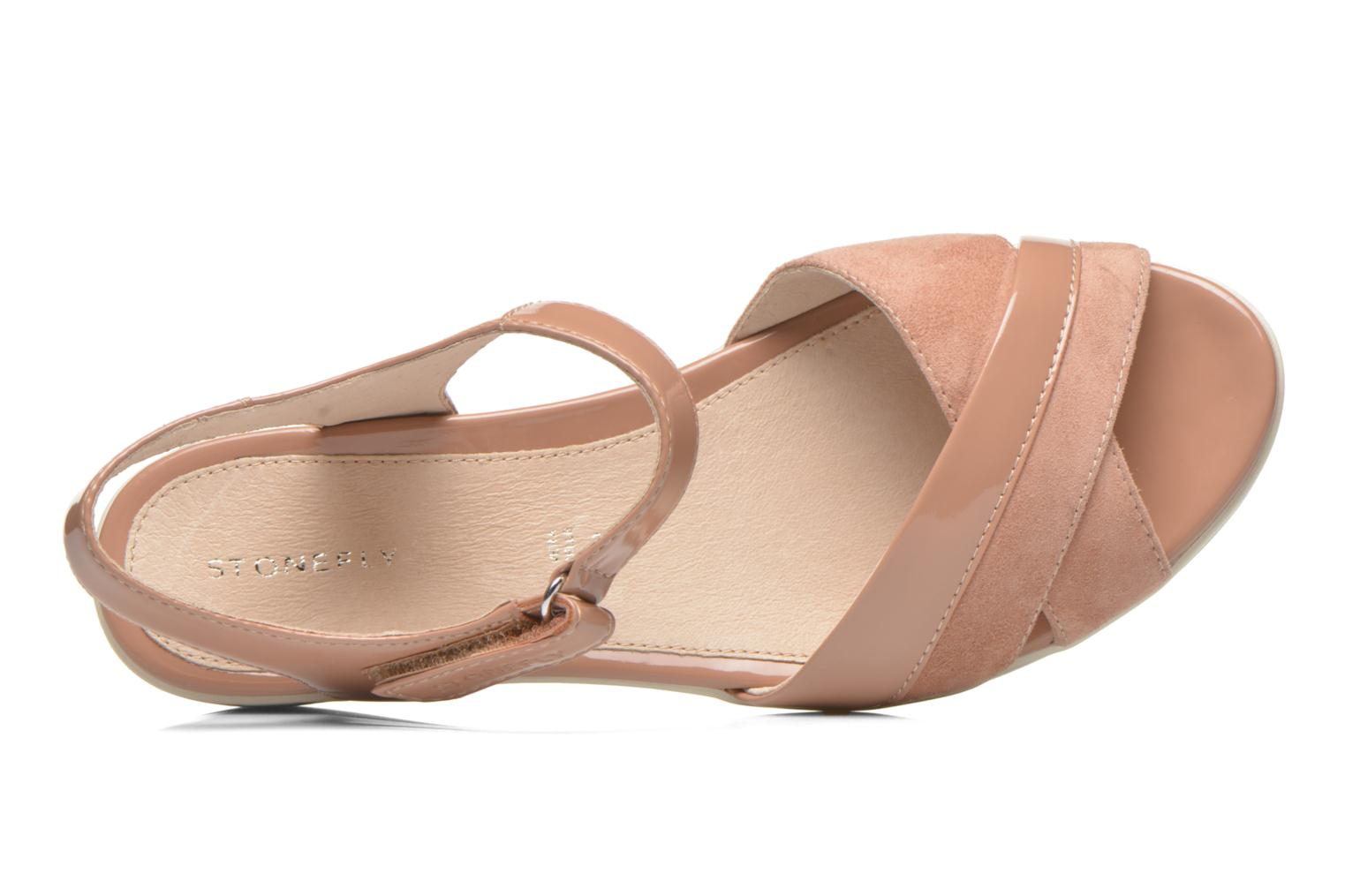 Sandals Stonefly Vanity III 3 Go Beige view from the left