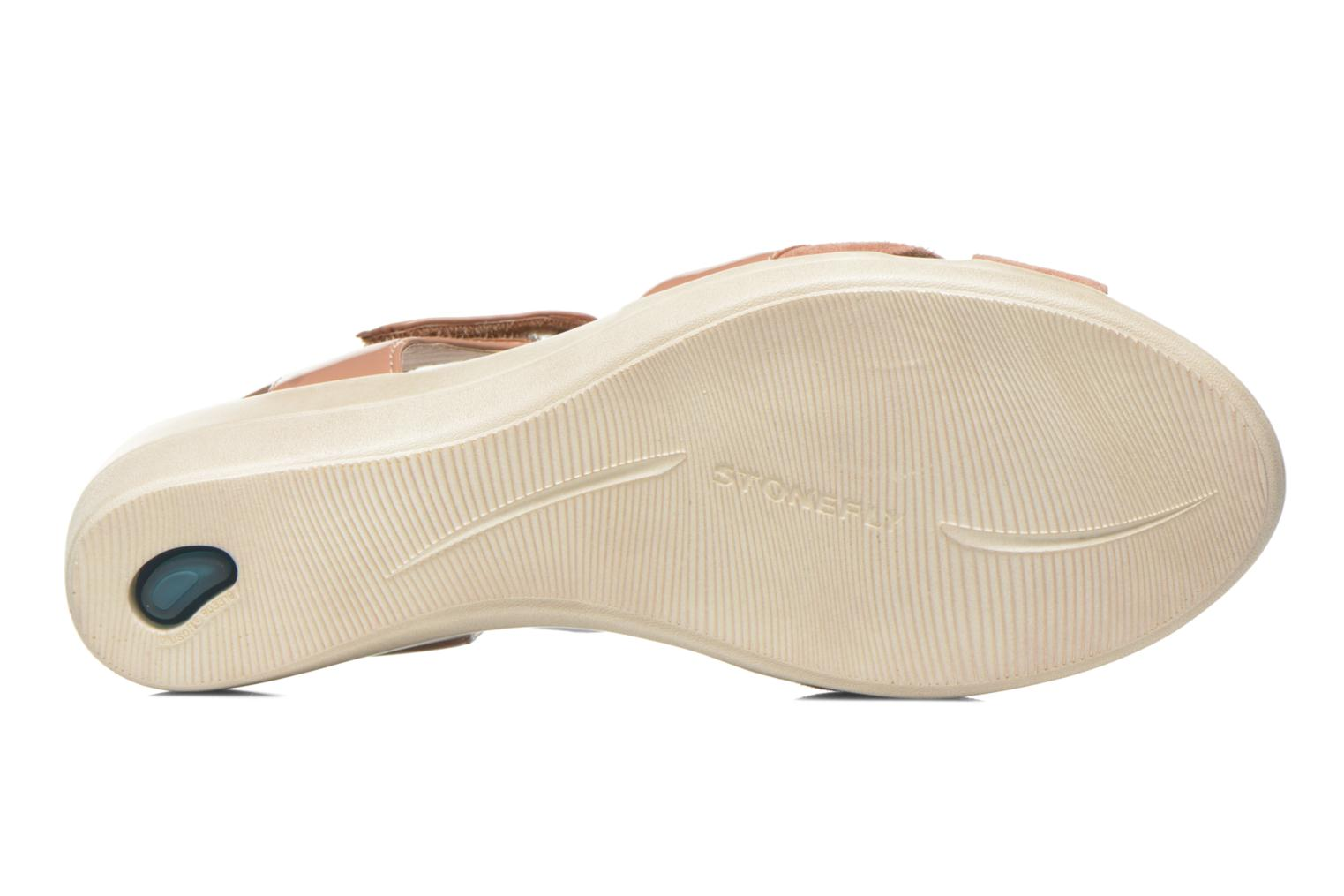 Sandals Stonefly Vanity III 3 Go Beige view from above
