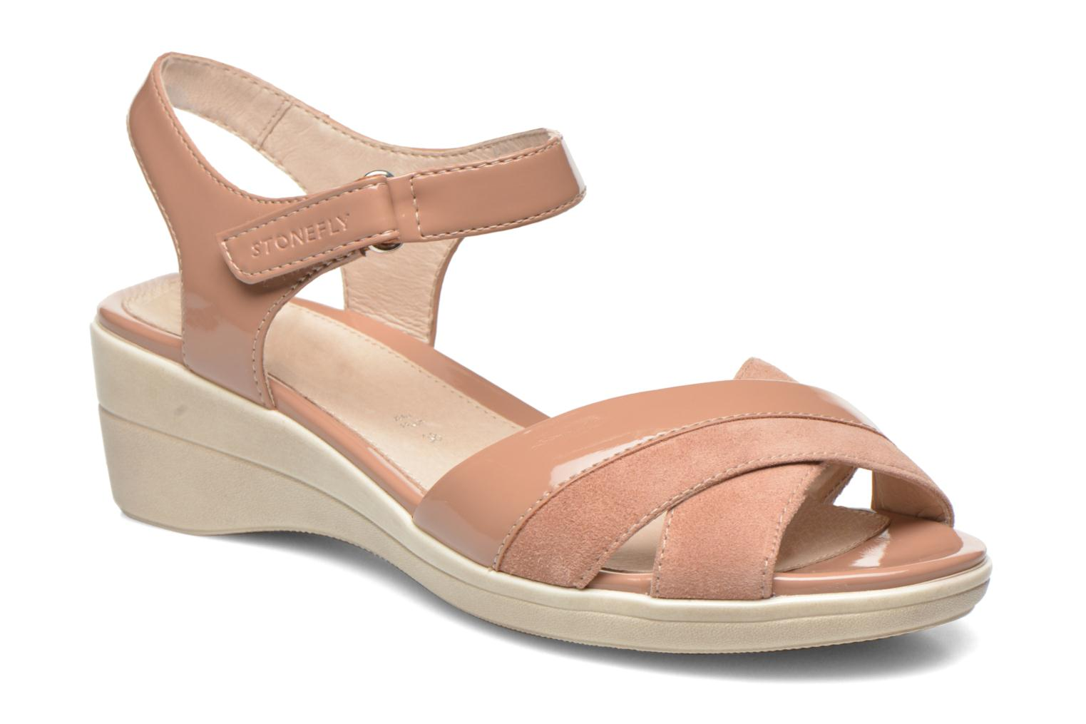 Sandals Stonefly Vanity III 3 Go Beige detailed view/ Pair view