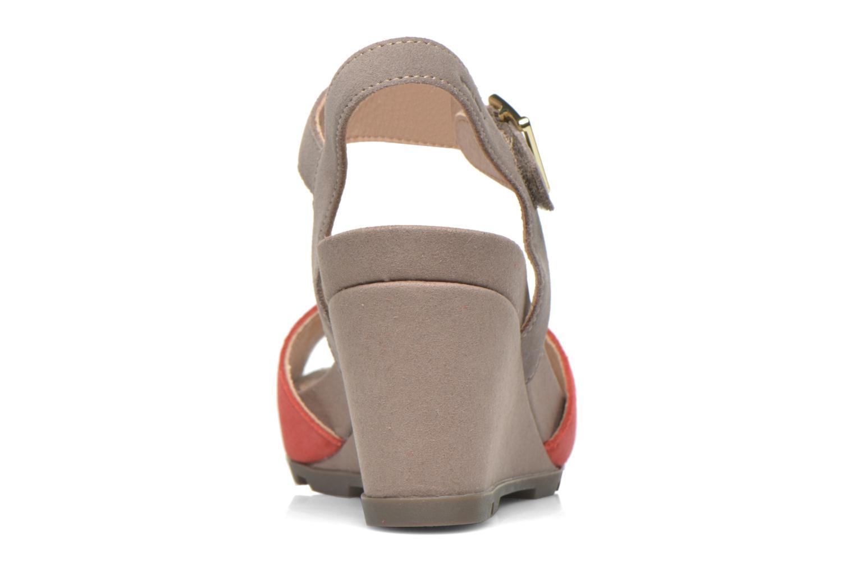 Sandales et nu-pieds Stonefly Anita 1 Velour Gris vue droite
